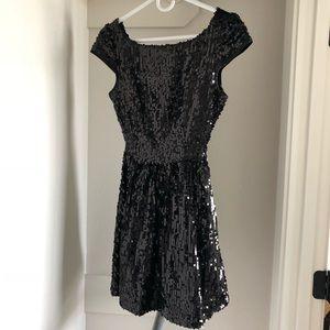 B. Darlin Black Sequin Dress